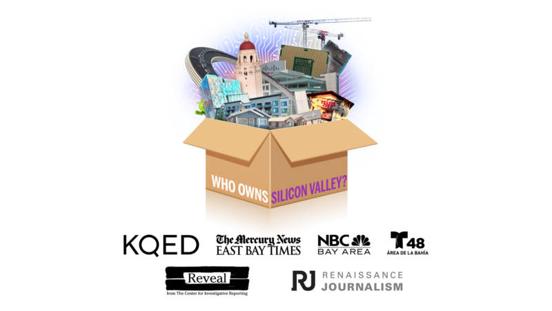 """Who Owns Silicon Valley?"" is a multi-newsroom investigative project involving Reveal from The Center for Investigative Reporting, The Mercury News, NBC Bay Area, Renaissance Journalism and Telemundo 48 Área de la BahíaTelemundo."