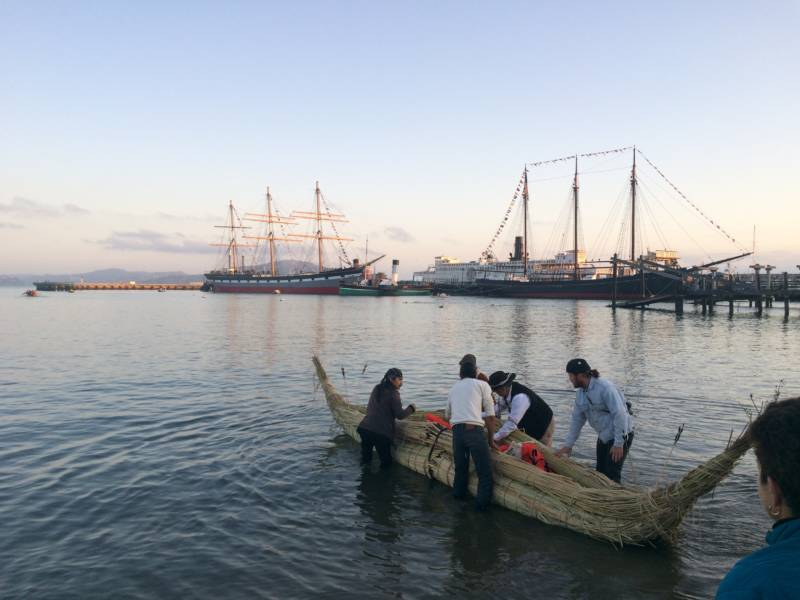 'We're Still Here': Canoe Journey to Alcatraz to Remember the Native American Occupation 50 Years Ago