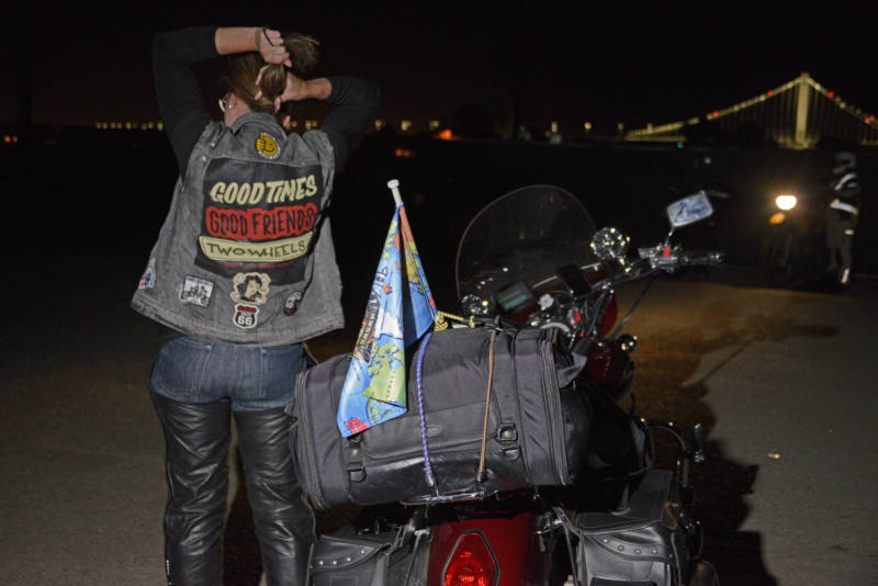 San Francisco Welcomes Global Women's Motorcycle Relay