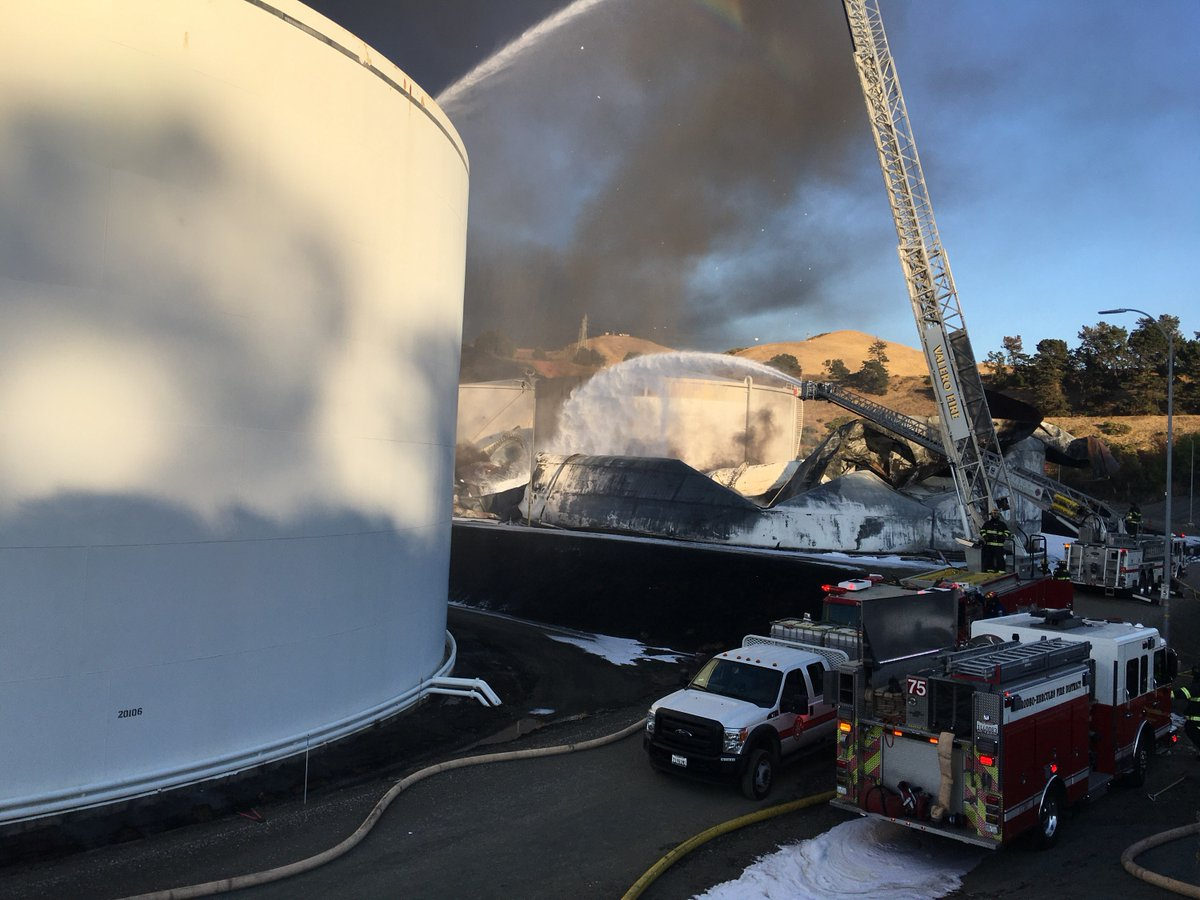 Lone Worker Found Inside NuStar Plant During Massive Blaze Was a Contractor