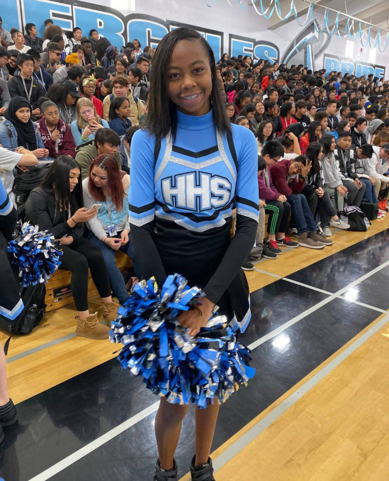 Hercules High student Antania Ford wants to attend UCLA, but she says she may opt for Diablo Valley Community College to save money.