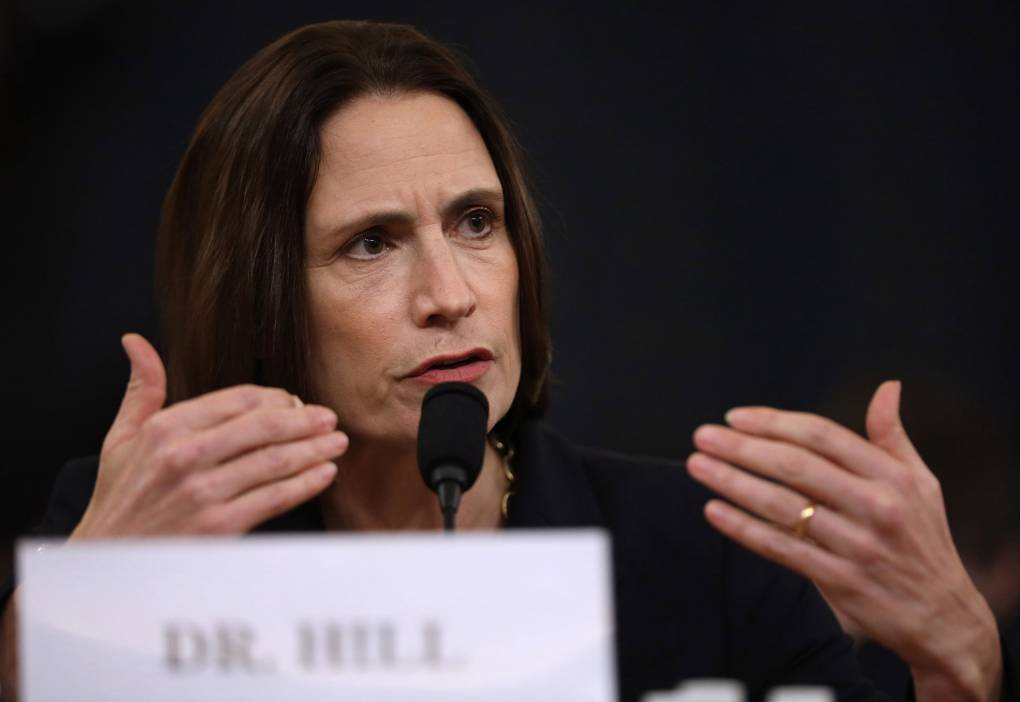 Impeachment Hearings Wrap as Fiona Hill Slams GOP's 'Fictional' Ukraine Account