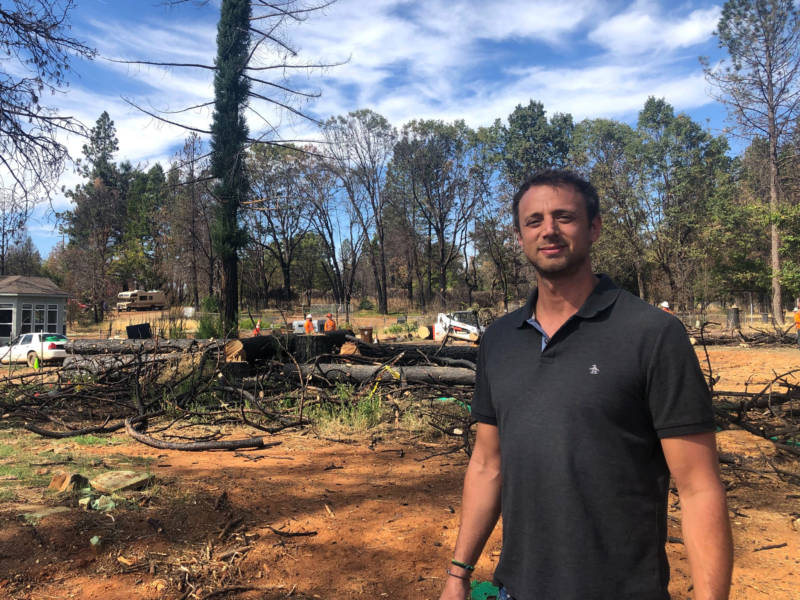 Chico-based developer Luigi Balsamo bought 4 lots in Paradise after the Camp Fire and plans to put pre-fab manufactured homes on them.