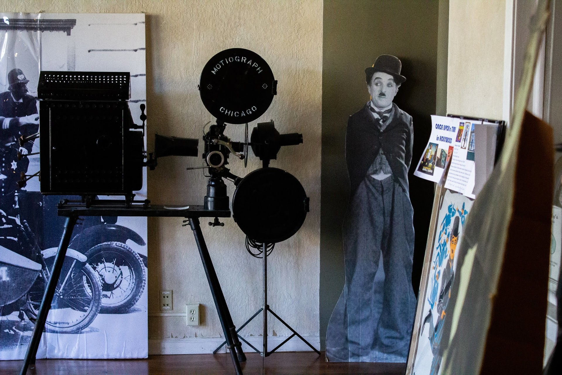 The Niles Essanay Silent Film Museum in Niles, California has become a repository for all sorts of artifacts, ranging from era posters to film projectors.