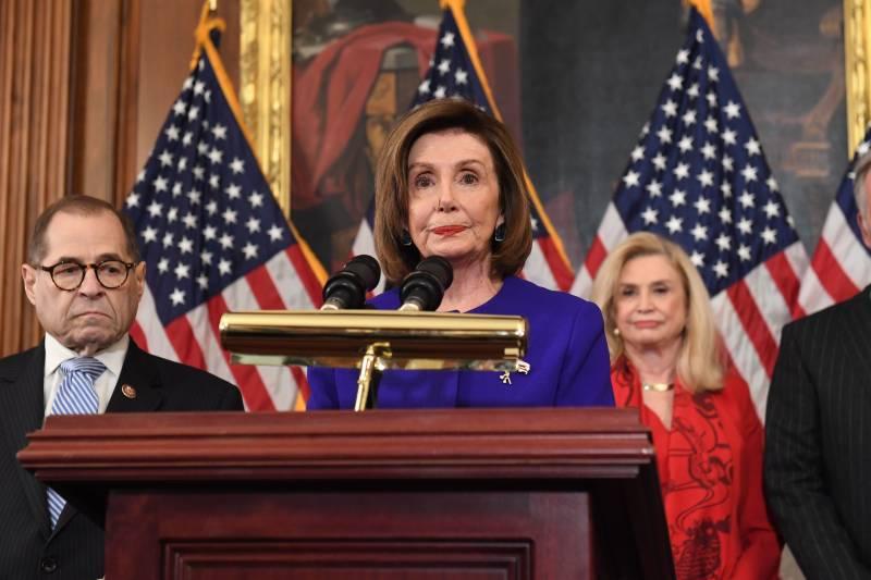 House Democrats Unveil 2 Articles of Impeachment Against Trump