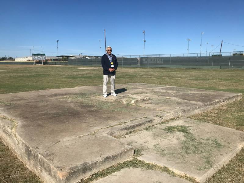 Japanese Latin American Eloy Moaki returns to the site where his family was interned during WWII in Crystal City, Texas.