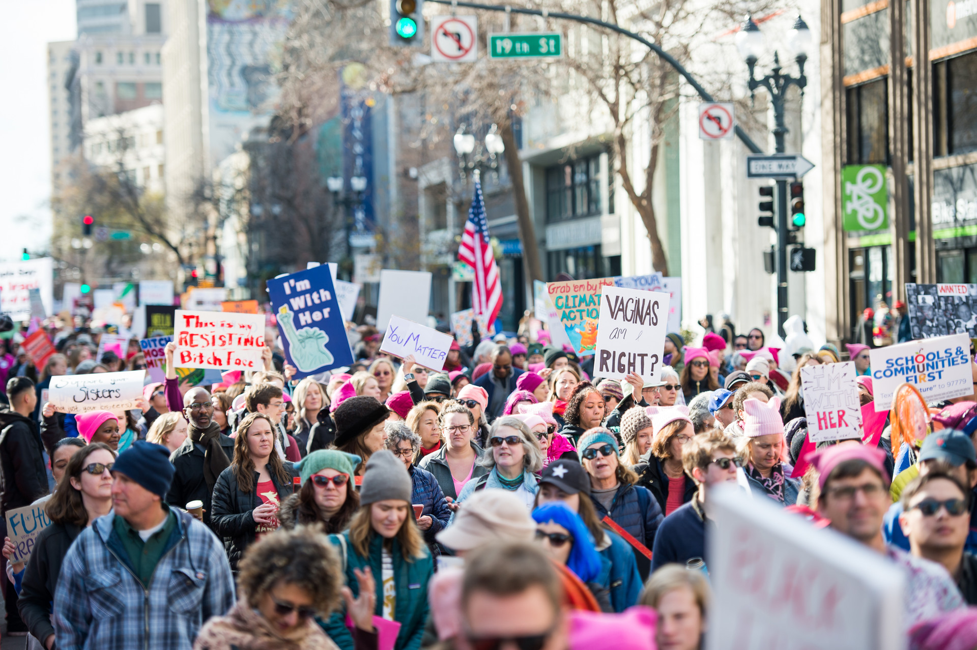 PHOTOS: 2020 Women's Marches From Around the Bay