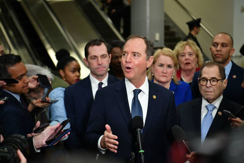 House Democrats Conclude First Day Of Opening Arguments In Trump Impeachment Trial Kqed