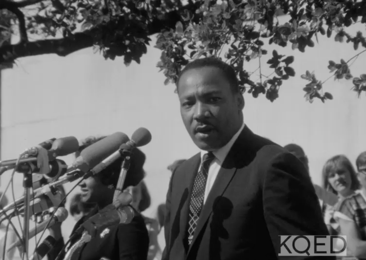 Watch Archival KQED Footage of Martin Luther King Jr.'s 1967 Bay Area Speech