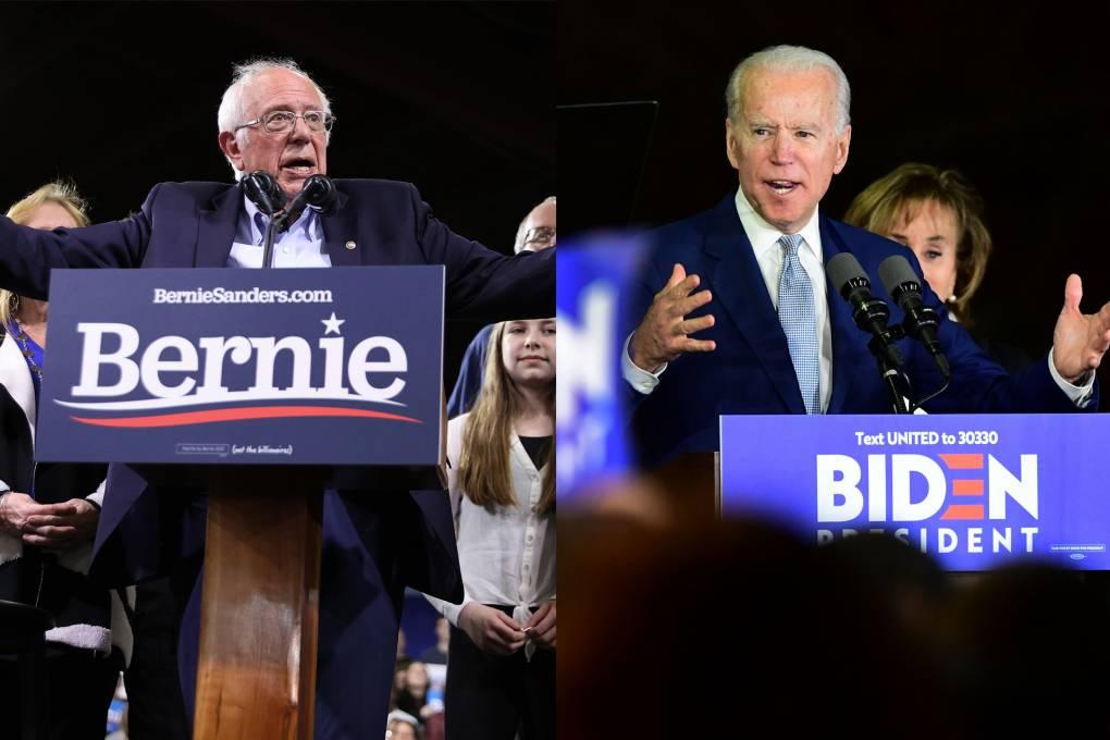 Bernie Sanders Leads in California as Biden Dominates Elsewhere
