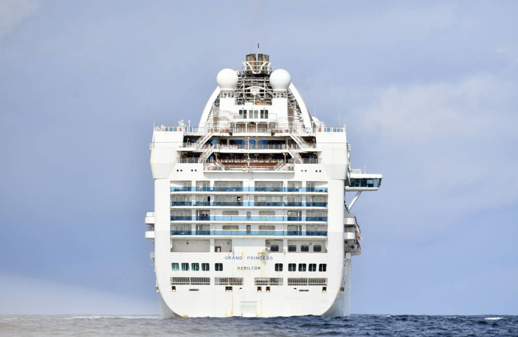 Coronavirus Cruise Ship Is Still Anchored on the Bay. Handling Its Sewage Is a Chore   KQED News