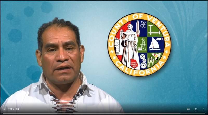 Un video publicado en el sitio web del programa de recursos para trabajadores agrícolas del condado de Ventura explica en Purépecha cómo protegerse del nuevo coronavirus.