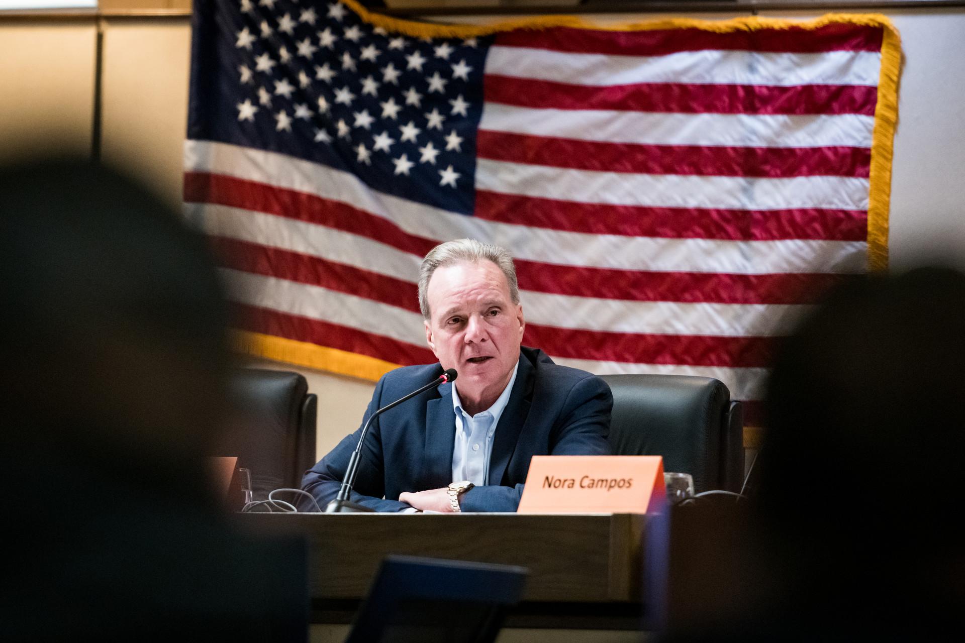 Santa Clara County Supervisor David Cortese, pictured in February.