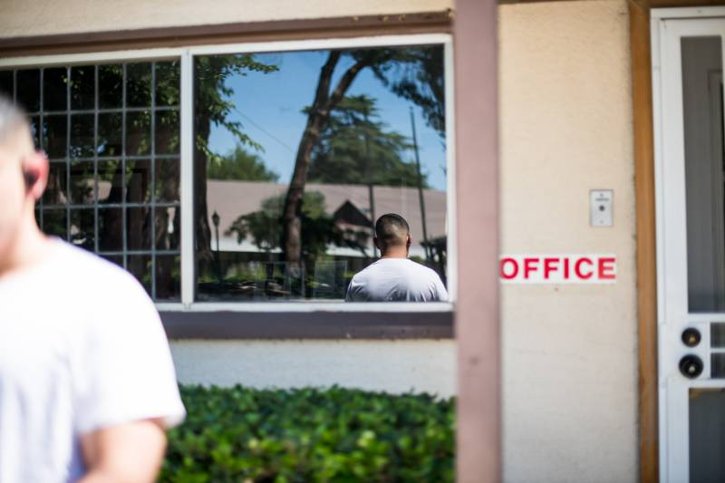 One of the alleged victims in the criminal case testified that he came to this office with his ex-wife to receive counseling from Father Antonio Castañeda and was taken to a conference room and abused by the priest.
