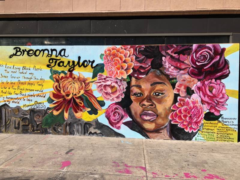 Oakland Muralists Honor Victims Of Police Violence Even As Police Take Their Paint Kqed