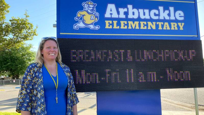 Alena Anberg's roots in rural Arbuckle fueled her commitment to get the school district's students connected to reliable and affordable internet.
