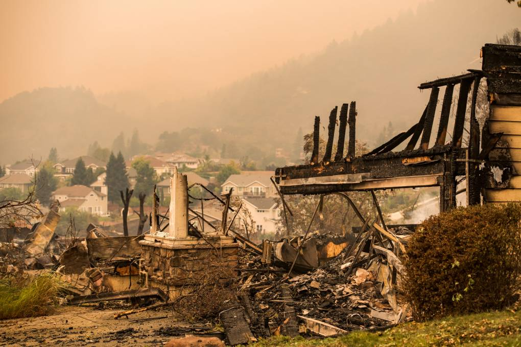 kqed.org - Glass Fire Continues Ruthless Assault on Wine Country as Firefighters Brace for More Wind