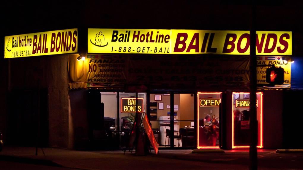 """Bail bonds shops. Thomas Hawk/<a href=""""https://www.flickr.com/photos/thomashawk/16237854047/"""">Flickr</a>"""