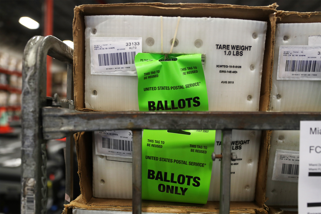 The electoral system has failsafes in place to help you correct mistakes regarding your ballot Joe Raedle/Getty