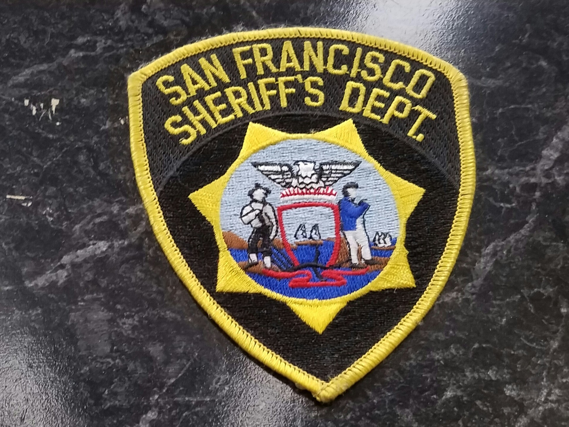 seal of the SF sheriff's department