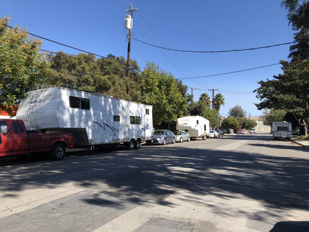 Mountain View Measure C Would Push RV Dwellers Off City Streets | KQED