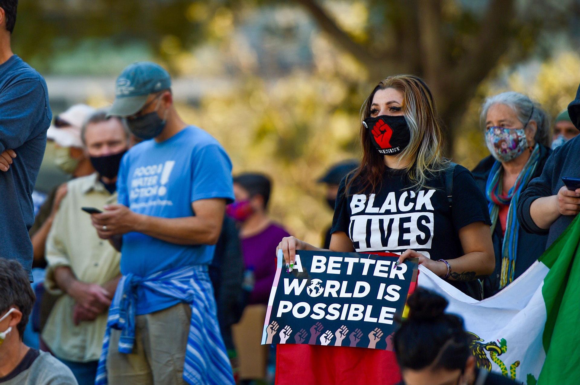 Oakland demonstrator