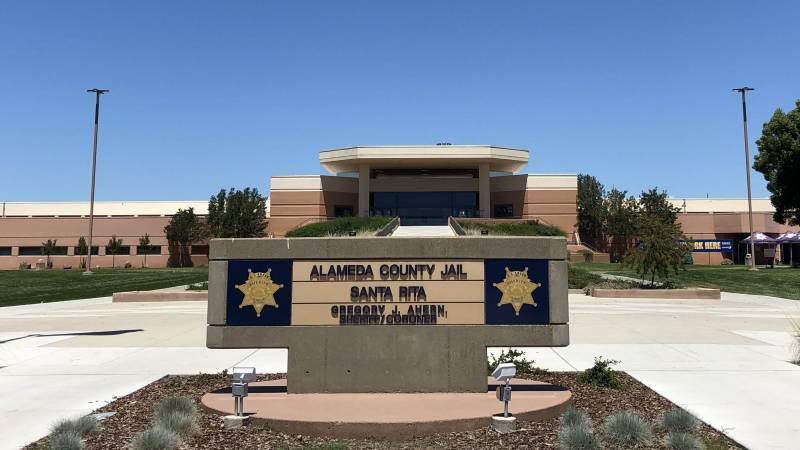 Administrative entrance to Santa Rita jail.