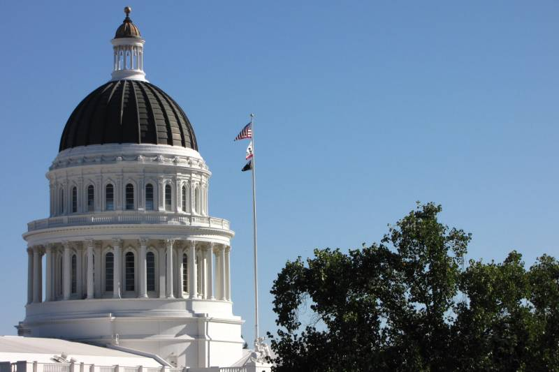 The Capitol building in Sacramento in 2015.