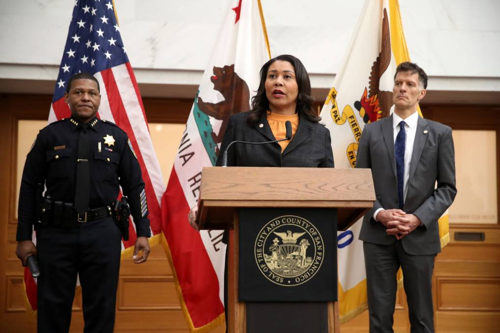 SF Mayor Breed Unveils Plan for Reinvesting $120 Million From Police Into Black Communities | KQED