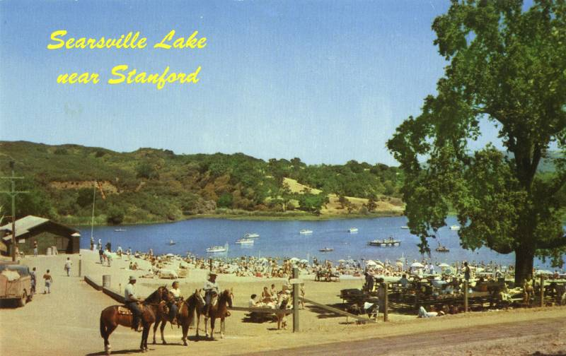 For half a century, Searsville Lake functioned as a man-made playground that drew thousands of people from all over the Bay Area for water sports, summer camps, picnics and more when the weather was good.