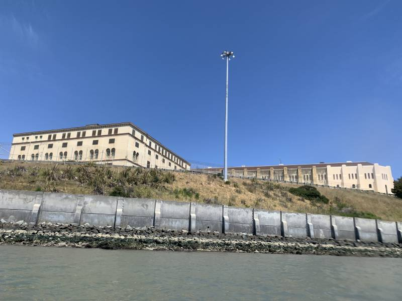 San Quentin seen from the San Francisco bay