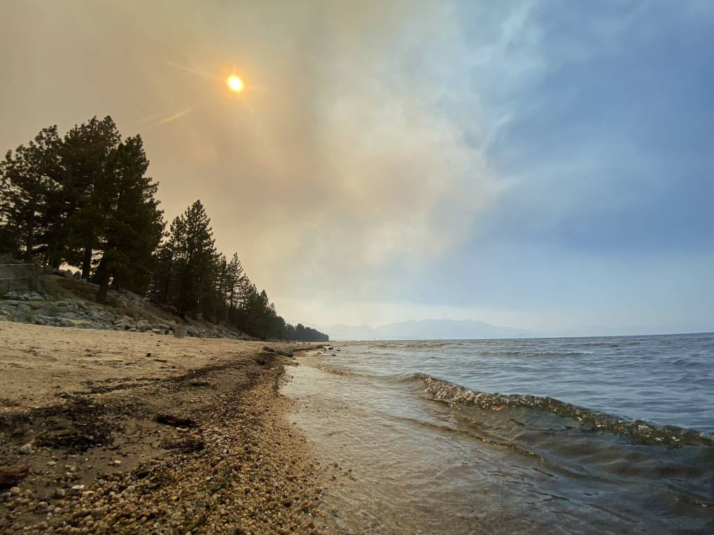 What's at Stake as the Caldor Fire Threatens Lake Tahoe