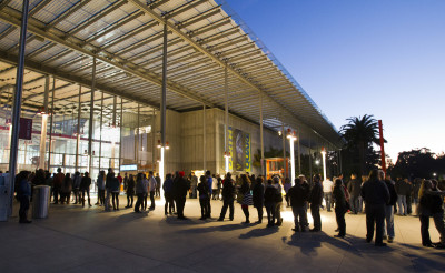Comedy NightLife at California Academy of Sciences © 2013 Photo by Jakub Mosur