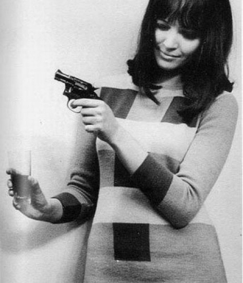 Anna Karina. Found via Pinterest.