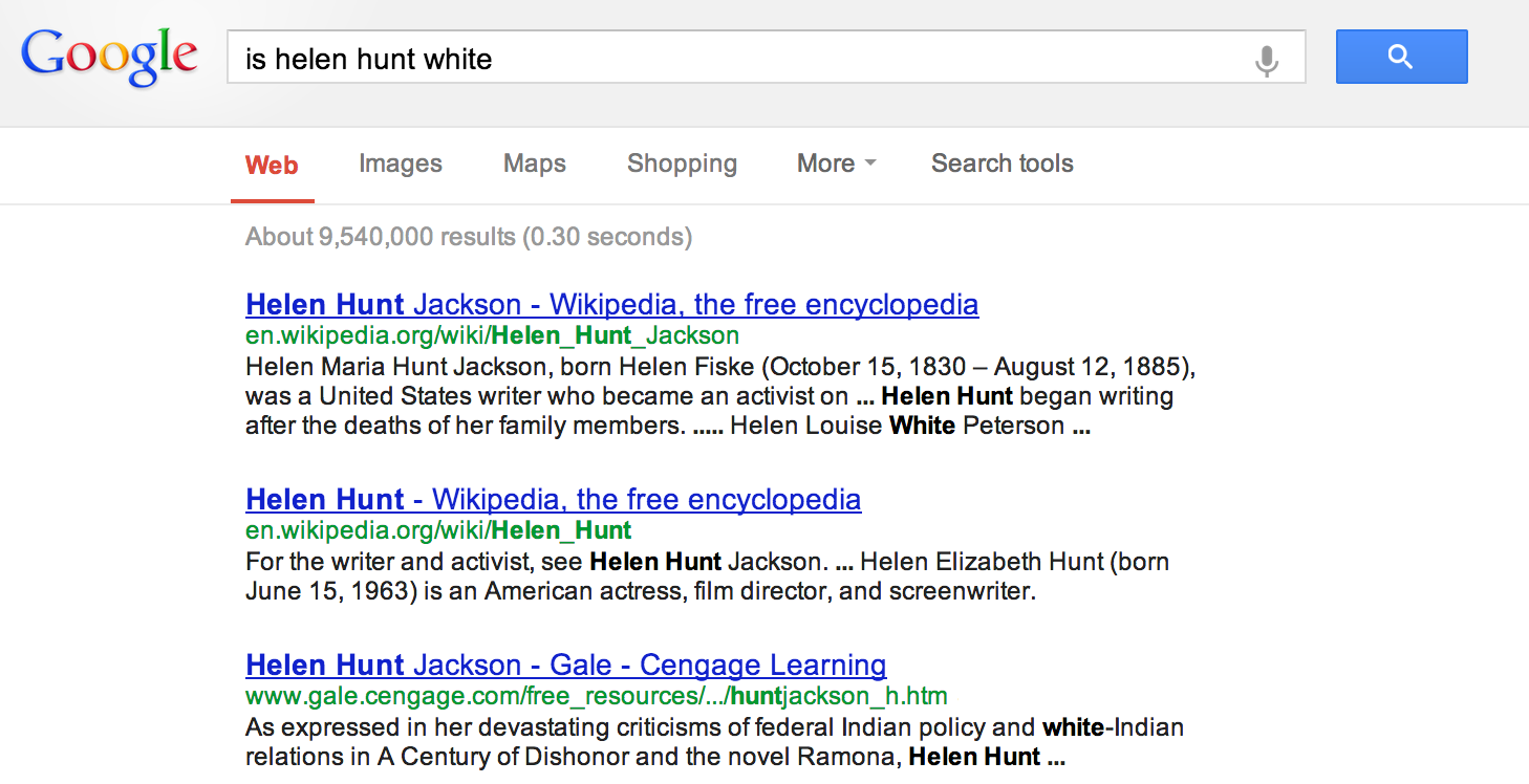 is_helen_hunt_white_1?