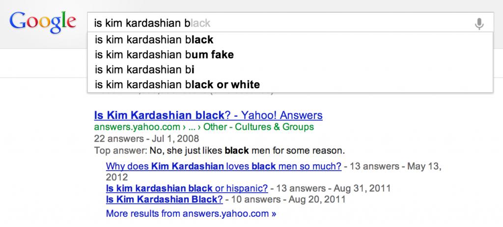 is_kim_k_black?