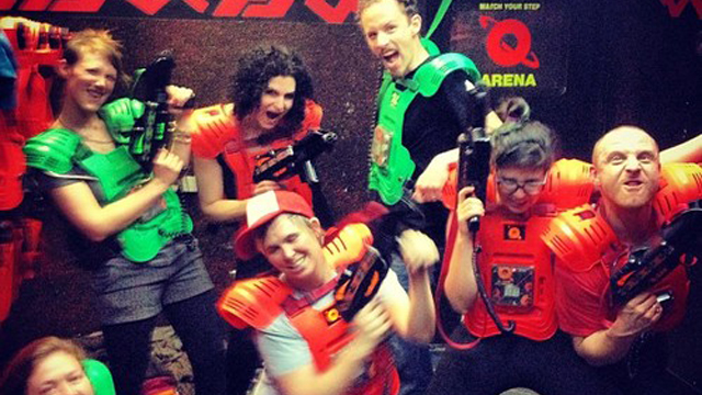 Place You Should Go: Q-Zar Laser Tag