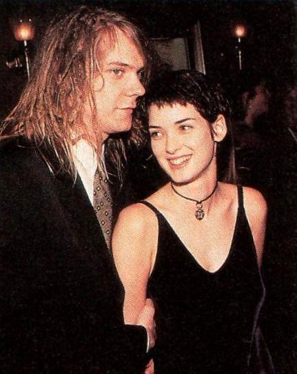Winona Ryder and her Soul Asylum boyfriend