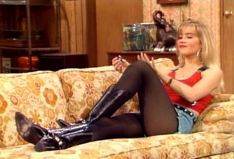 Kelly Bundy on 'Married with Children'