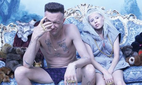 Weirdo South African band, Die Antwoord