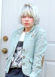 Tavi Gevinson: Grey hair looks great, but only if you're 15
