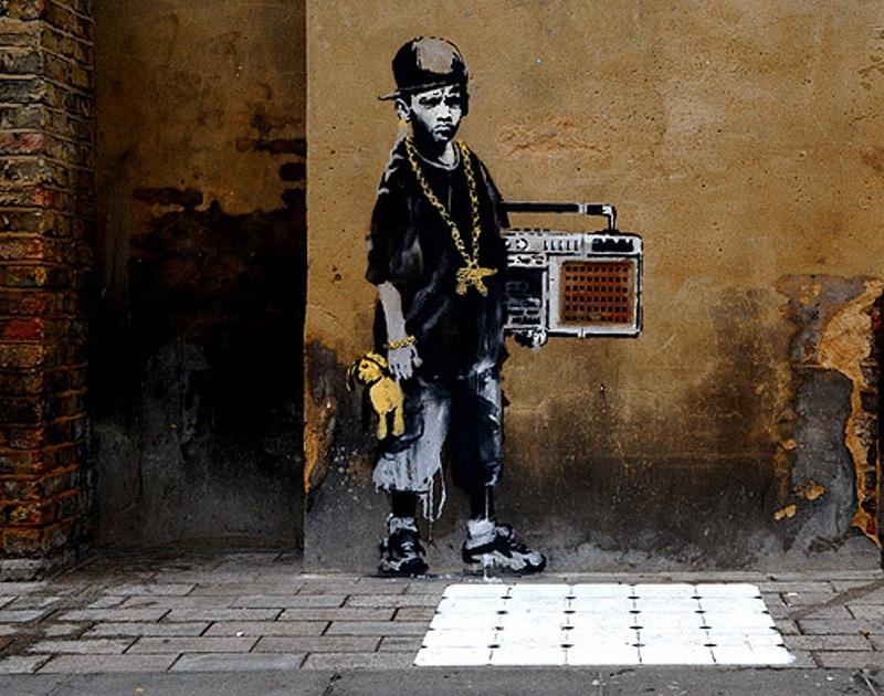 banksy-dalston-gilette-square_london