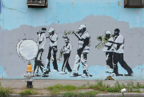 banksy_black_band