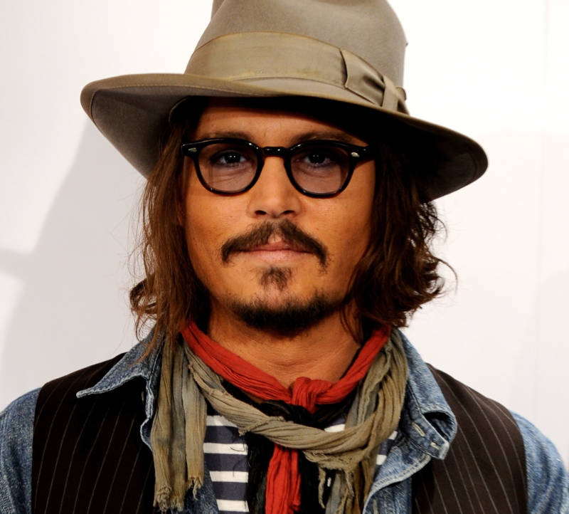Johnny Depp has been a pirate for too long.