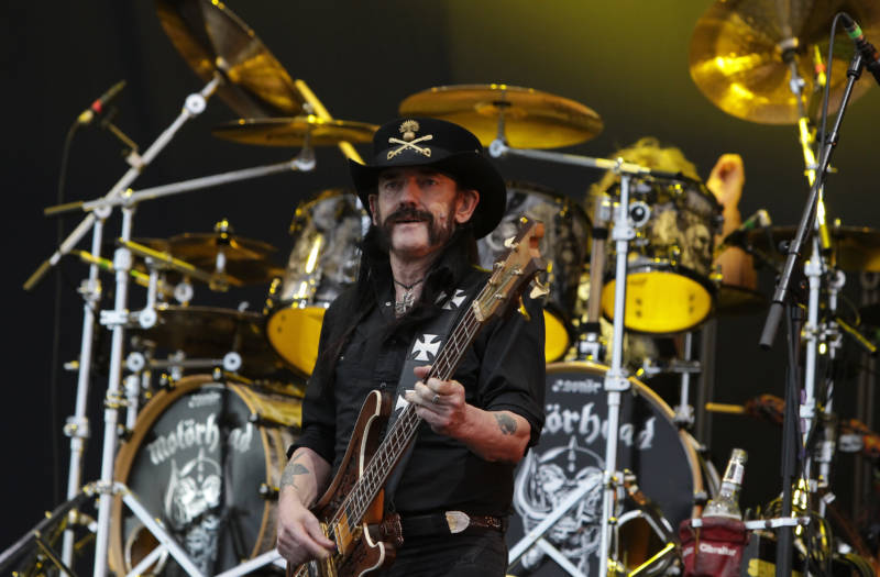 Lemmy likes black and cowboy hats, and has been wearing the same thing for forty years. He also has too much speed in his veins to ever safely detox or he'll go into shock, but we don't have to talk about that.