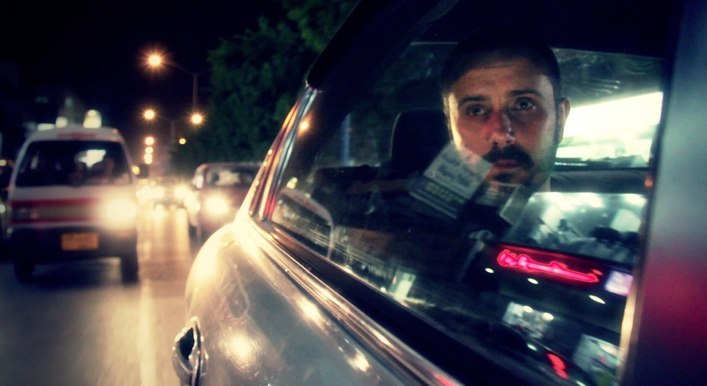 Jeremy Scahill in Yemen. Photo by Richard Rowley Courtesy of IFC Films