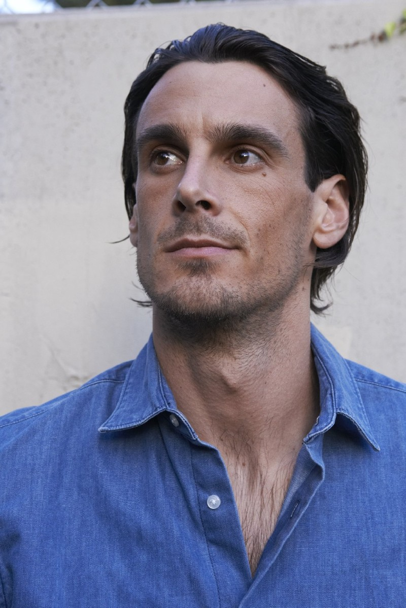 Author and NFL punter Chris Kluwe (photo by David Bowman)
