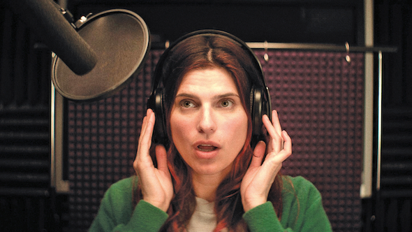 "Lake Bell, the writer, director and star of ""In a World"" (courtesy of Roadside Attractions)"
