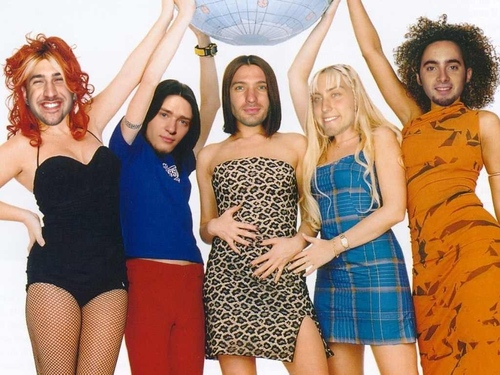 nsync spice girls