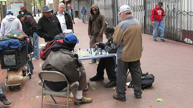 Stephen Colbert Calls Out SFPD on Their Market Street Chess Crackdown